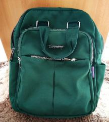 Sötétzöld hátizsák/backpack