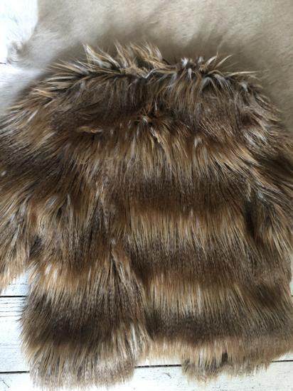 🧨Új faux fur coat 25000.- helyett különleges