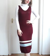 H&m kötött midi ruha