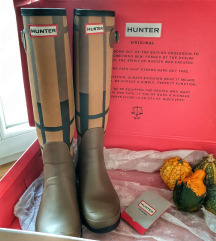 HUNTER WMN Original Tall Tartan gumicsizma
