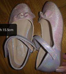 F&F egyszer viselt csillogó hologrammos cipőcske