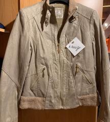 Drapp színű bndás kabát