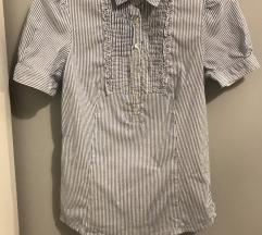 Zara nyári zsabós rövidujjú ing