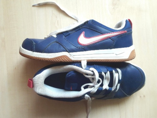 Nike, sötétkék edzőcipő, 38