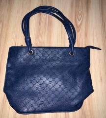 Sötét kék táska