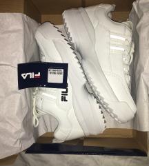 Új, fehér női fila cipő