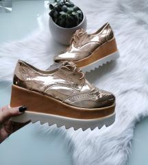 Rosegold platform cipő Új 40