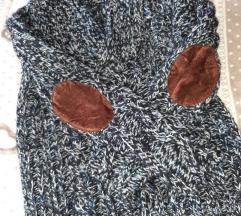 Zara young férfi pulóver