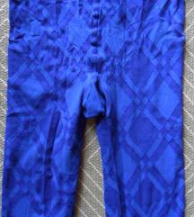 1-2, S - Újszerű kék mintás harisnyandrág