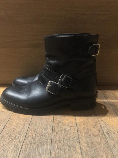 Massimo Dutti biker boots - Bőr 37