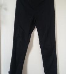 H&M fekete sztreccs vászon szűk nadrág, 38-as