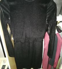 H&M bársony ruha
