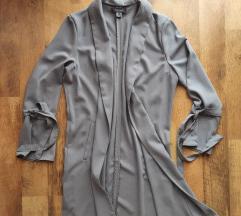 Szürke átmeneti tavaszi kabát