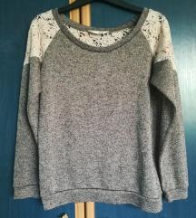 Női / lány pulóver (csipkés)