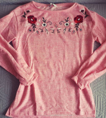 C&A virágs mintás pulcsi M