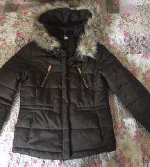 H&M-es sötétzöld kabát