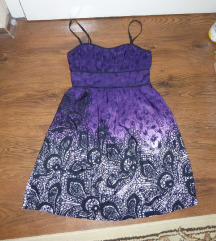 Lila nyári ruha 34/36