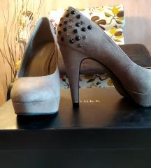 Graceland bézs magassarkú cipő (37)