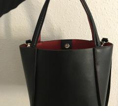 Fekete (piros) hibátlan táska!