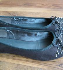Graceland 38-as köves fekete balerina cipő