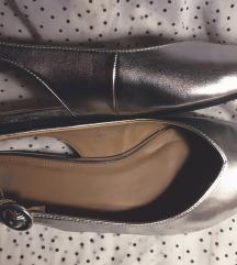 Ezüst balerinacipő