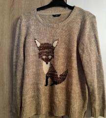 Őszi/téli rókás pulcsi