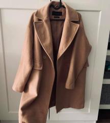 Reserved wool blend szövet kabát