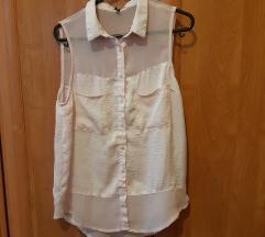 Halványrózsaszín női ing