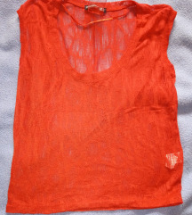 Narancssárga necc póló - top 🎽