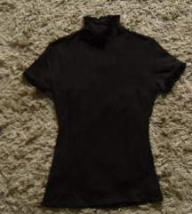 Magenta barna rövidujjú pulcsi S/M