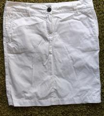 Mango 36-os fehér szoknya