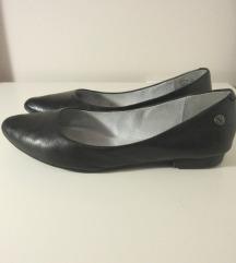 Venturini valódi bőr balerina cipő 36