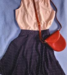 H&M pasztell színű selyem blúz-új