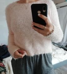 Puha rózsaszín pulcsi