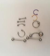 Új orvosi fém piercingek