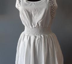 Fehér új lézervágott ruha