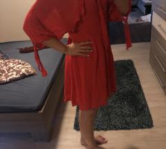 Mango basic piros nyári ruha