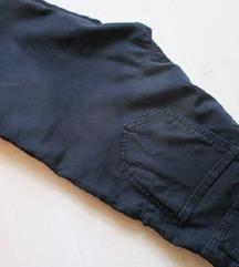 High waist, fekete nadrág, S/M