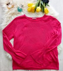 Új Orsay kasmír-selyem kötött pulóver XL