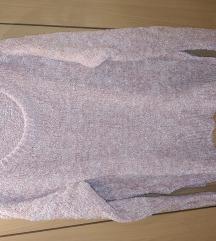 S-m halvány rózsaszín csillogó pulcsi