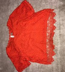 HM-es piros, kétrétegű póló