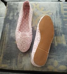 Új horgolt nyári topánka