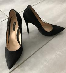 36 fekete magassarkú elegáns cipő