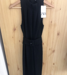 Zara fekete elegáns overál