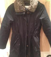 H&M, sötétkék, téli kabát