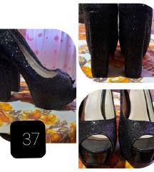 Magassarkú cipő 37