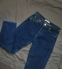 stradivarius mom jeans