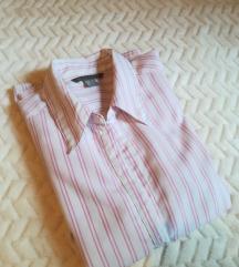 Rózsaszín csíkos ing