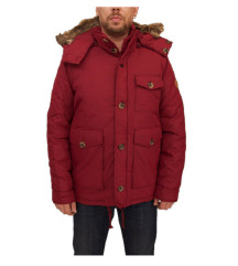 ////LEÁRAZTAM/////native youth puffer jacket red