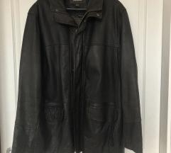 Philip Russel valódi bőr, sötétbarna dzseki
